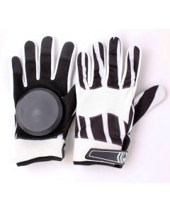 Longboard Downhill Sliding Gloves (Zebra)