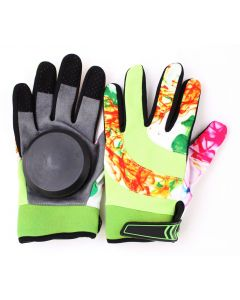 Longboard Downhill Sliding Gloves (Green Smoker)