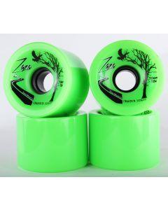 70mm Neon Green