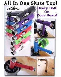 All in one Skate Tool