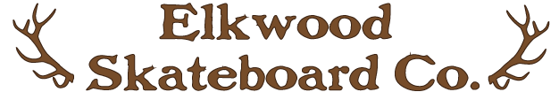 Elkwood skateboards and longboards